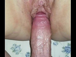 Creampie my sleeping mom