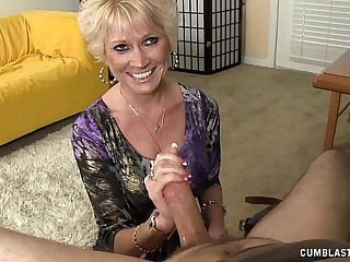 Imported Granny Splattered WIth Cum