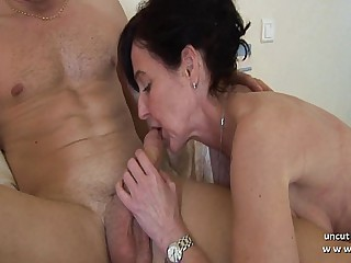 Miasmic french mom cougar fucked overwrought a boy and plugged and fisted overwrought a girl