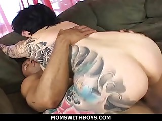 MomsWithBoys - Big Titted MILF Michelle Aston Plus A Huge Cock
