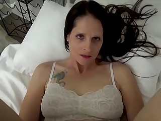 Mammy & Son Share a Bed - Mammy Wakes Up to Son Masturbating - POV, MILF, Family Sex, Mother - Christina Sapphire