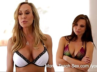 YouPorn - Moms Teach Sex Mom seduces her virgin stepson