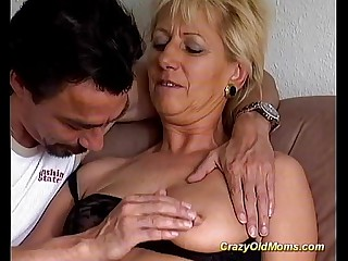 Mad old mom gets fucked hard