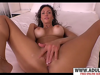 Lascivious mamma kristy engulf magic youthful step son