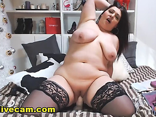 Hawt bulky mother i'd like to fuck impersonate excitement live