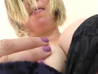 Superannuated curvy british housewife needs a priceless fuck