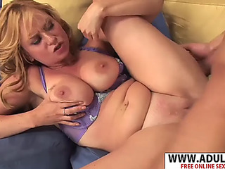 Euro stepmom violet addamson shacking up phat delicate stepson
