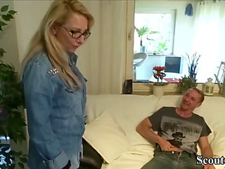 German fellow-clansman caught mother i'd like close by fuck stepsister jenny and receive fuck