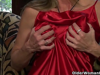 American mother i'd like far fuck fortunate has slew of pleasure more a red sex toy
