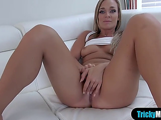 Breasty stepmom shows ger stepson despite that a real fuck is done